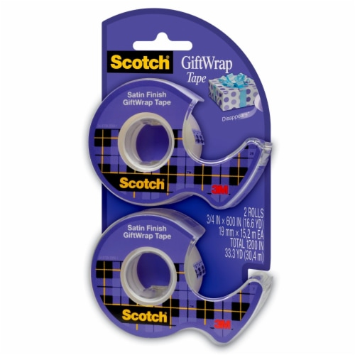 Scotch® GiftWrap Tape - Clear Perspective: front