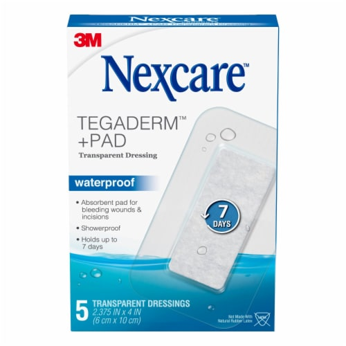Nexcare Absolute Waterproof Sterile Adhesive Pads Perspective: front