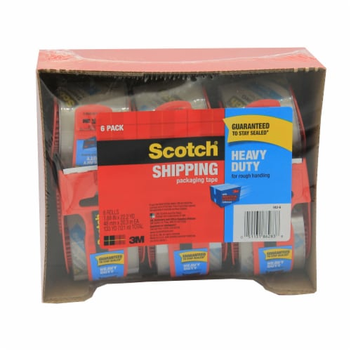 Scotch® Heavy-Duty Shipping Packing Tape In Dispenser Perspective: front