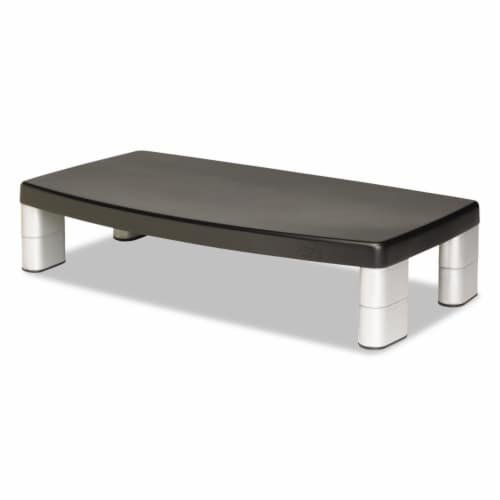3m Riser,Adj Monitr Stand,Bk MS90B Perspective: front