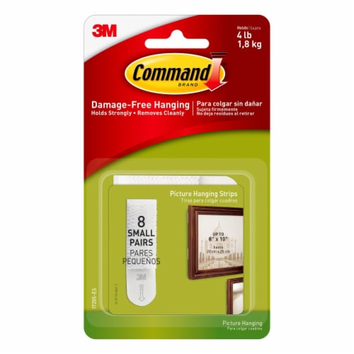 Command™ Small Damage-Free Hanging Picture Strips Perspective: front