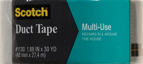 Scotch Multi-Use Duct Tape - Silver Perspective: front