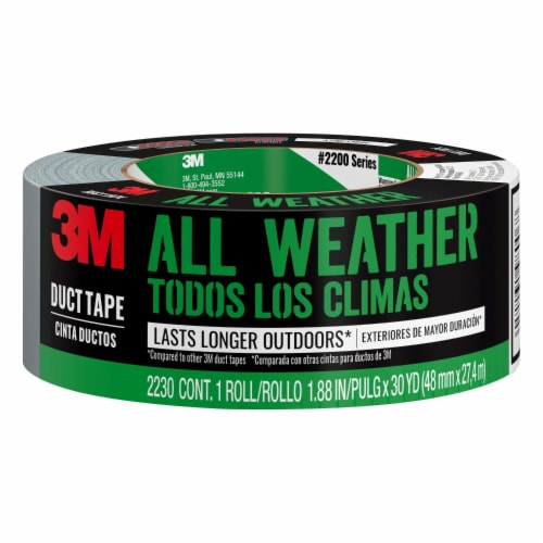 Scotch Heavy Duty All-Weather Duct Tape - Gray Perspective: front