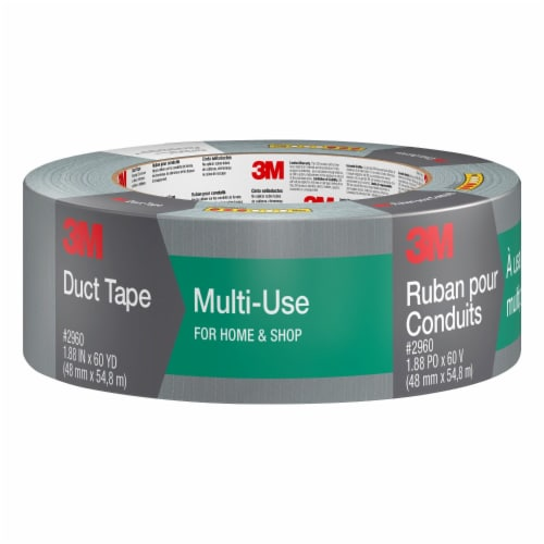 Scotch® Multi-Use Duct Tape - Gray Perspective: front