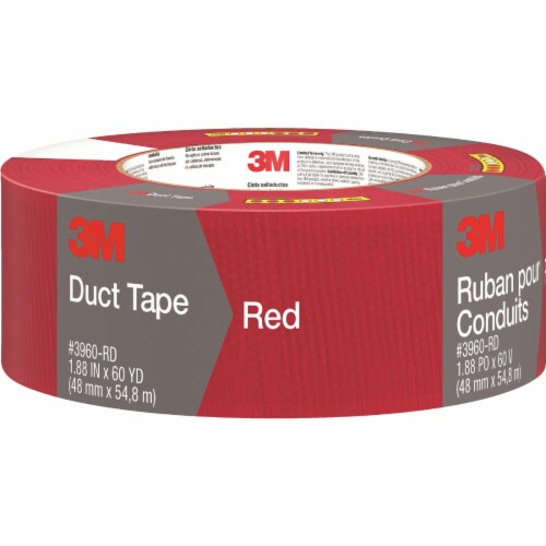 3M Duct Tape - Red Perspective: front