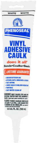 Phenoseal Vinyl Adhesive Caulk Perspective: front
