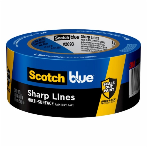 ScotchBlue™ Edge Lock Blu Tape 2 Count Perspective: front