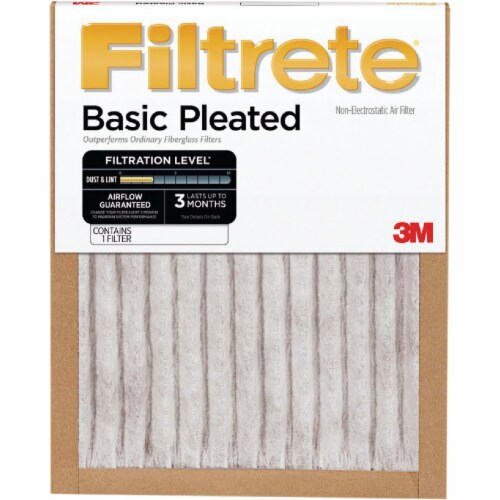 3M 18X24X1 BASIC AIR FILTER FBA21DC-6 Pack of 6 Perspective: front
