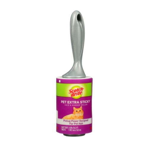 Scotch-Brite™ Pet Extra Sticky Hair & Dander Roller Perspective: front