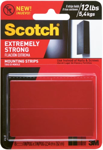 Scotch® Extreme Strong Mount Tape Perspective: front