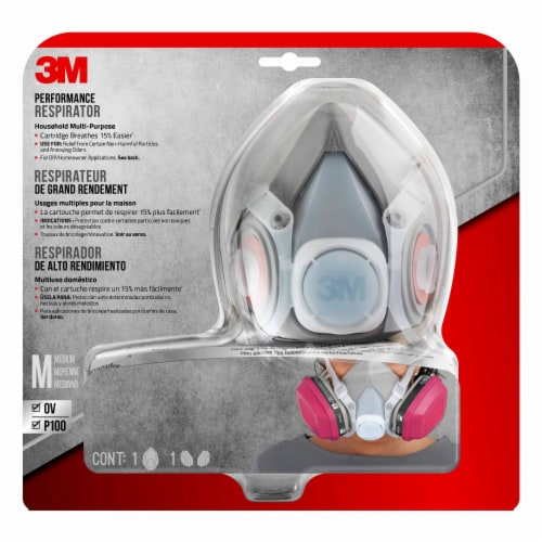 3M Household Multi-Purpose Respirator Perspective: front