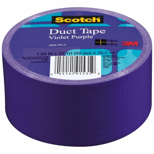 Scotch Solid Duct Tape 1.88 X20yd-Violet Purple Perspective: front