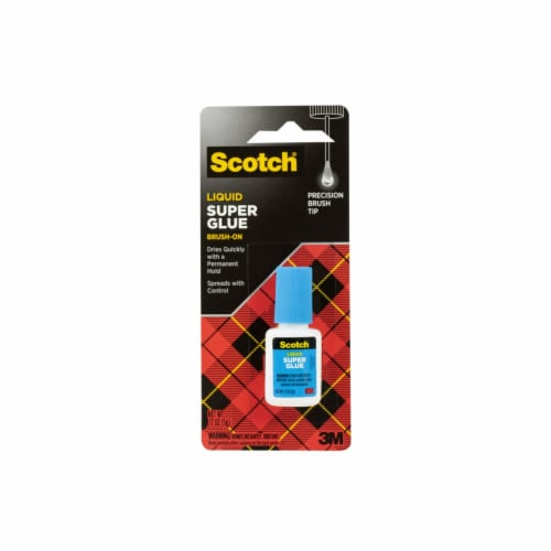 Scotch® Liquid Brush-On Super Glue Perspective: front