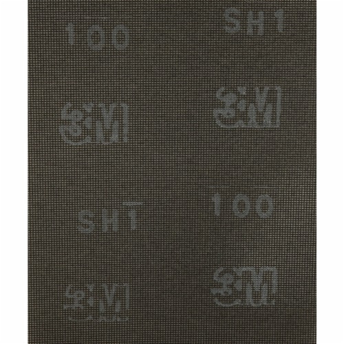 3M 100 Grit 9 In. x 11 In. Screenback Drywall Sanding Screen (25-Pack) 10459 Perspective: front