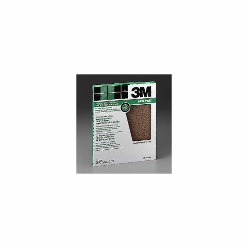 3M All-Purpose 9 In. x 11 In. 80 Grit Medium Sandpaper (25-Pack) 99405NA Perspective: front