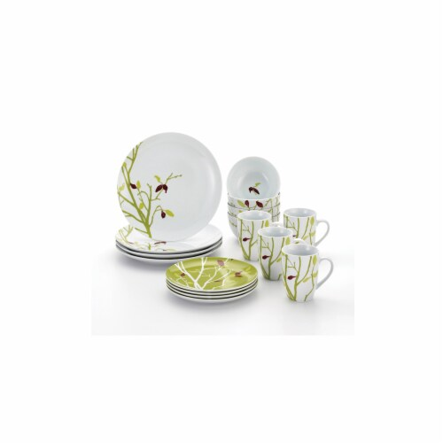 Rachael Ray Seasons Changing, 16-Piece Dinnerware Set Perspective: front