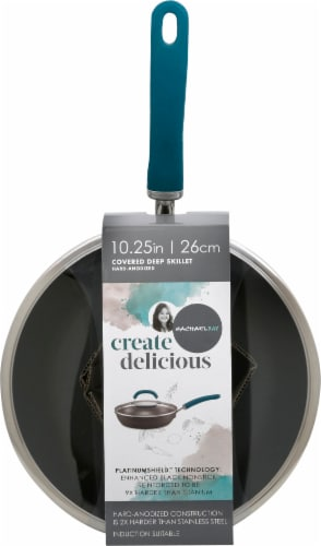 Rachael Ray Create Delicious Aluminum Nonstick Deep Frying Pan Perspective: front