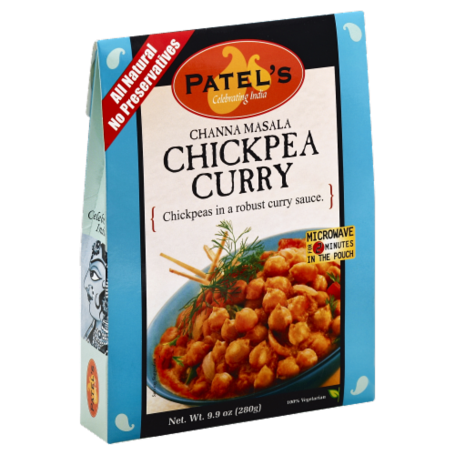 Patel's Channa Masala Chickpea Curry Perspective: front