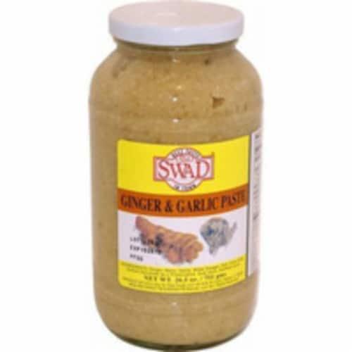 Swad Ginger Garlic Paste - 7.5 Oz Perspective: front