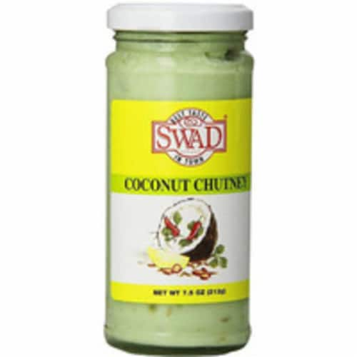 Swad Coconut Chutney - 7.5 Oz Perspective: front
