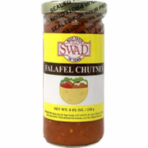 Swad Falafel Chutney - 8 Oz Perspective: front