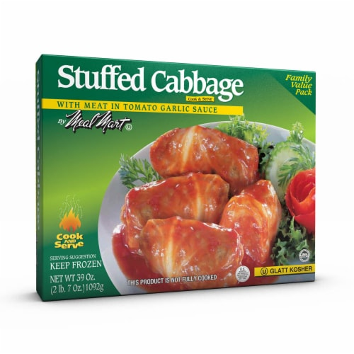 Meal Mart Stuffed Cabbage with Meat in Tomato Garlic Sauce Family Value Pack Perspective: front