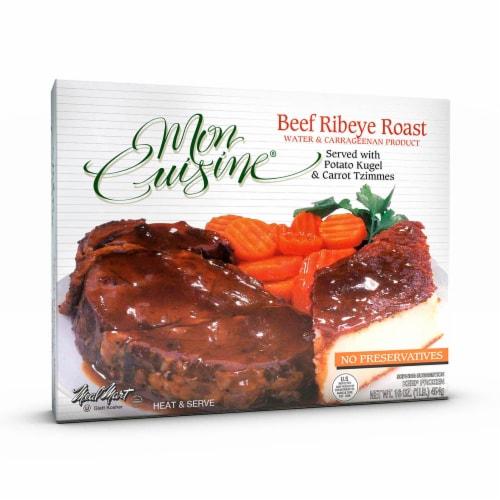Mon Cuisine Beef Ribeye Roast Perspective: front