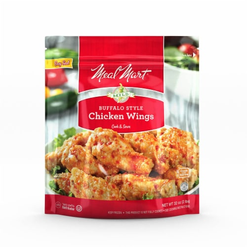 Meal Mart Buffalo Style Chicken Wings Perspective: front