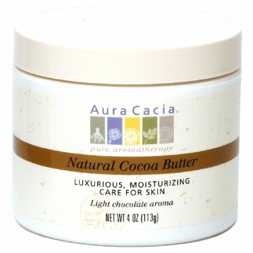 Aura Cacia Organic Cocoa Butter Perspective: front
