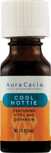 Aura Cacia Cool Hottie Essential Solutions Mist Perspective: front