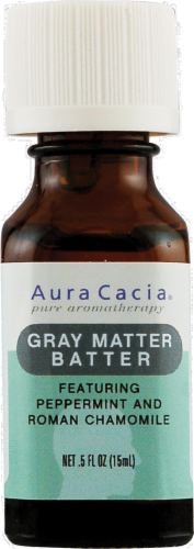 Aura Cacia Grey Matter Batter Essential Solutions Mist Perspective: front