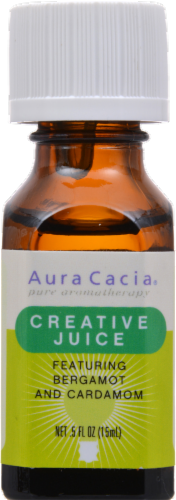 Aura Cacia Creative Juice Essential Solutions Mist Perspective: front