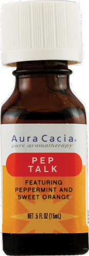 Aura Cacia Pep Talk Essential Solutions Mist Perspective: front