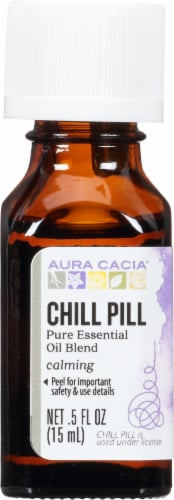 Aura Cacia Chill Pill Essential Solutions Mist Perspective: front