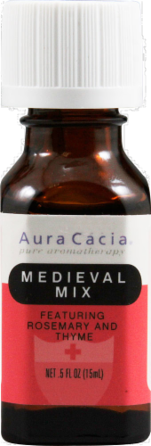 Aura Cacia Medieval Mix Essential Soultions Mist Perspective: front