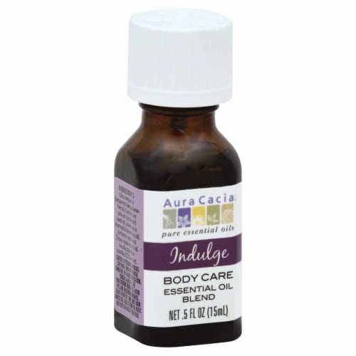 Aura Cacia Indulge Essential Oil Blend Perspective: front