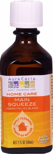 Aura Cacia Home Care Main Squeeze Essential Oil Blend Perspective: front