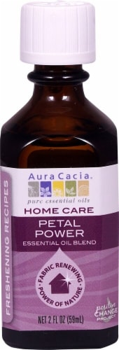 Aura Cacia Home Care Petal Powder Essential Oil Blend Perspective: front