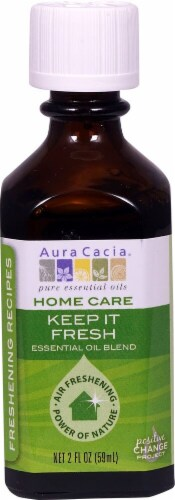 Aura Cacia Home Care Keep It Fresh Essential Oil Blend Perspective: front