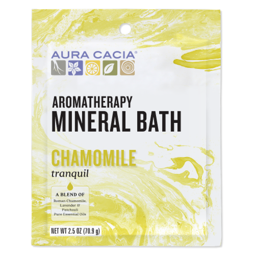 Aura Cacia Tranquility Mineral Bath Perspective: front