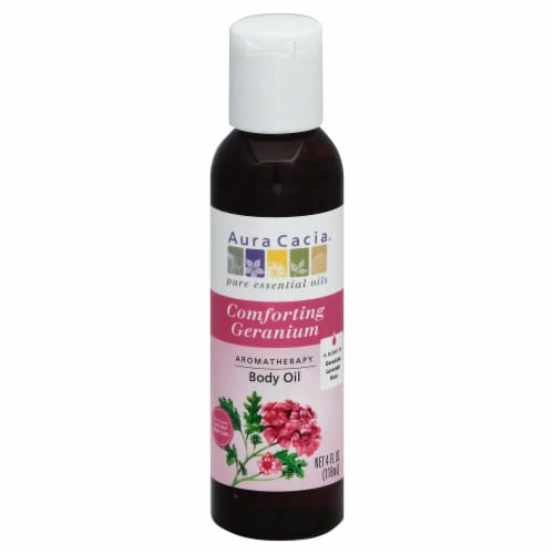 Aura Cacia Heartsong Massage Oil Perspective: front