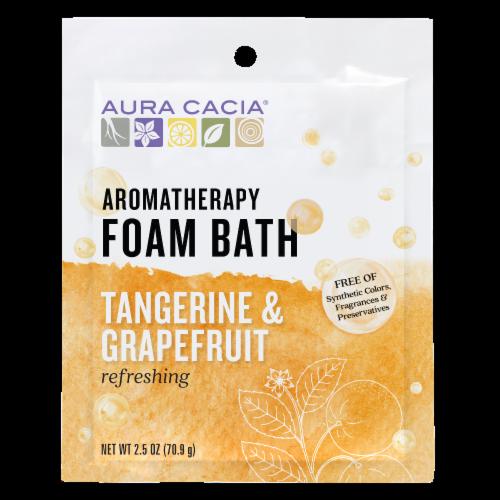 Aura Cacia Tangerine & Sweet Foam Bath Perspective: front