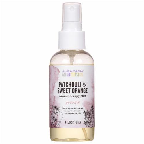 Aura Cacia Patchouli & Orange Aromatherapy Mist Perspective: front