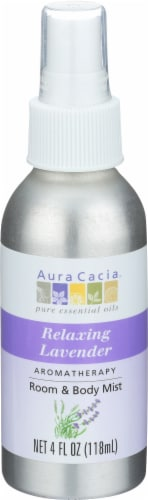 Aura Cacia Lavender Harvest Aromatherapy Mist Perspective: front