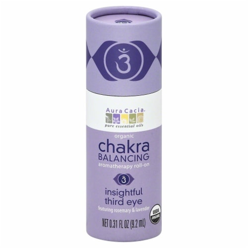 Aura Cacia Chakra Balancing Insightful Third Eye Roll On Perspective: front
