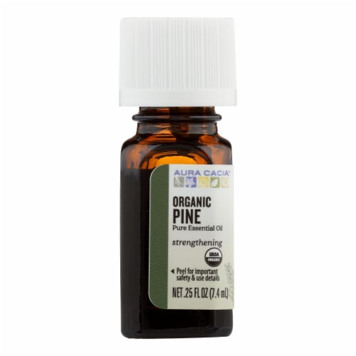 Aura Cacia - Organic Pine - .25 oz - Pack of 3 Perspective: front