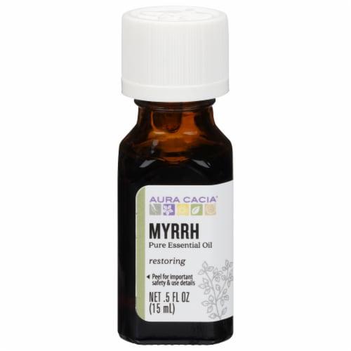 Aura Myrrh Essential Oil Perspective: front