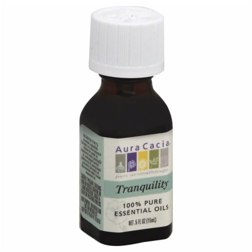 Aura Cacia Tranquility Pure Essential Oil Perspective: front