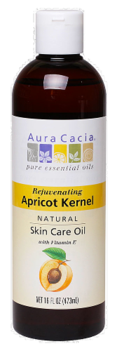 Aura Cacia Apricot Kernel Skin Care Oil Perspective: front