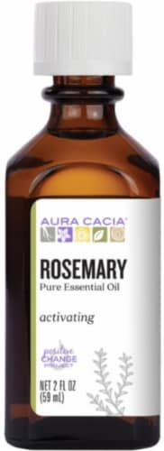 Aura Cacia Essential  Rosemary Oil Perspective: front